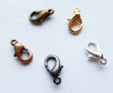 9mm Lobster clasp x 7. Pick a colour.